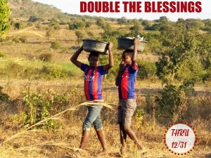 Double the Blessing