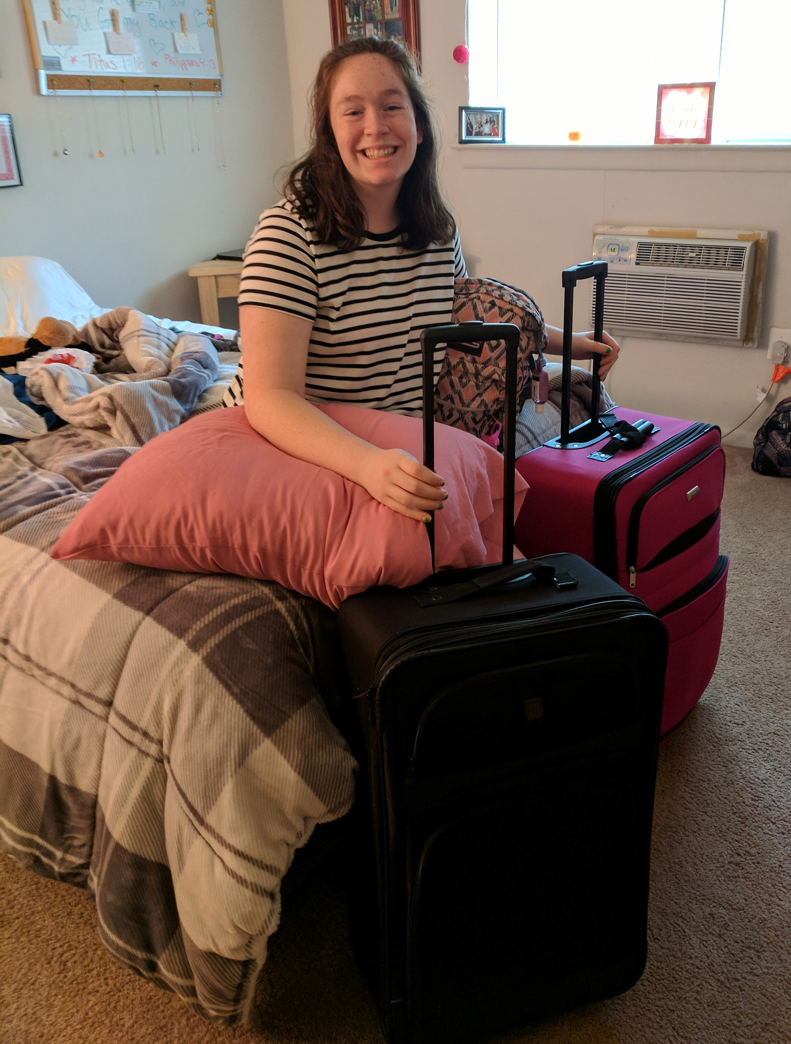 All Packed & Ready to Go – by Bethany Hogan