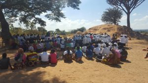 Preaching in Malawi by Sherard Graham