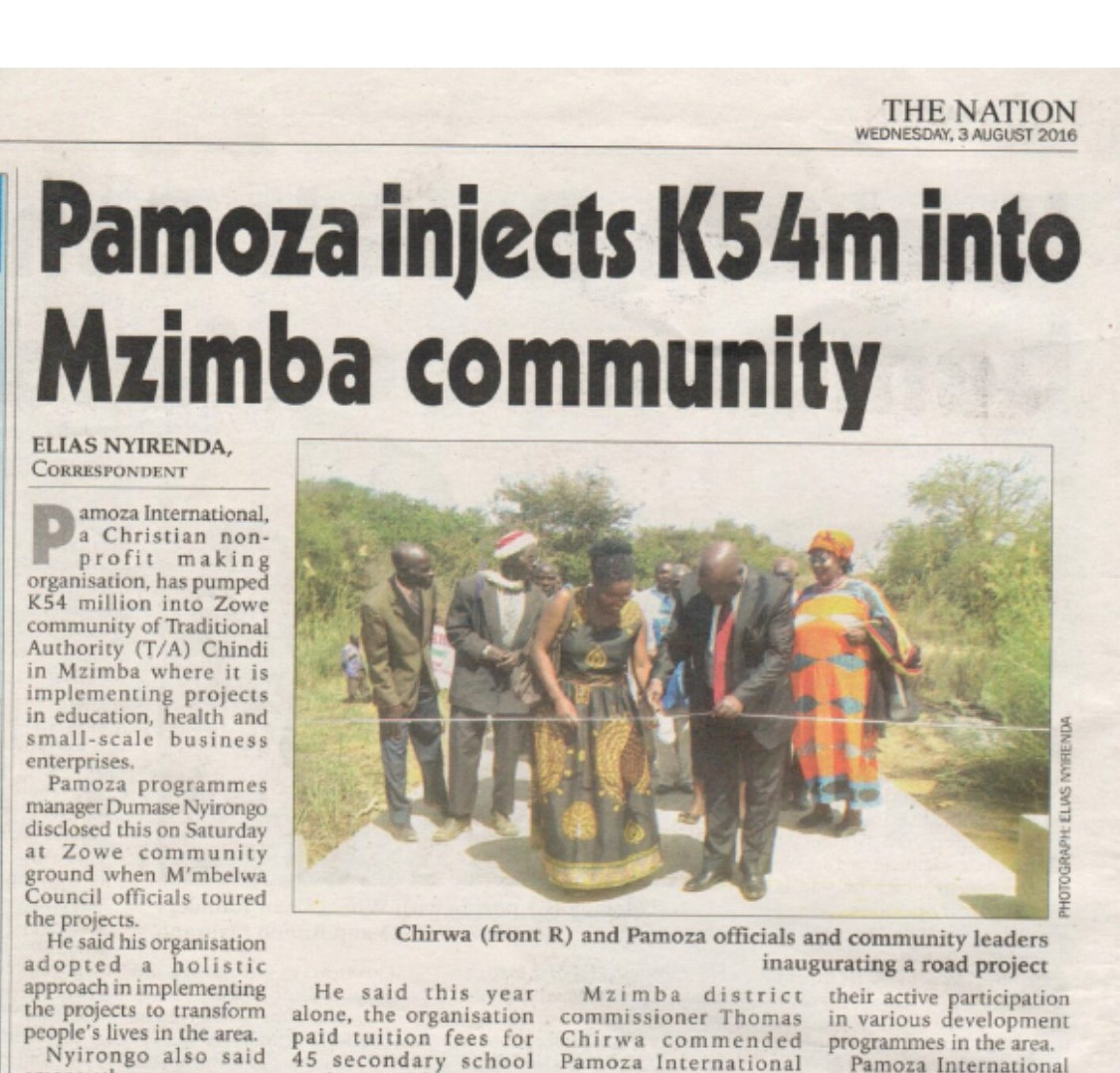 Pamoza In the News