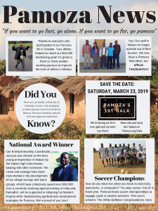 Check out our Fall 2018 newsletter